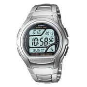 Casio® Multi-Band Atomic Timekeeping Digital Sports Watch, Silver (WV58DA-1AV)