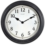 """Chaney Instruments Acurite® 18""""Dia x 2""""D Black Analog Wall Clock (75103A1)"""