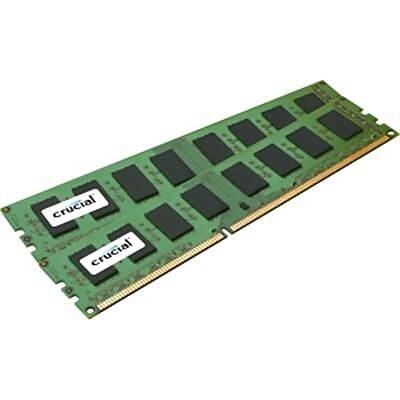 Crucial CT2K25664BA160BA 4GB (2 x 2GB) DDR3 SDRAM UDIMM DDR3-1600/PC-12800 Desktop RAM Module