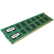 Crucial™ CT2KIT25672AA80EA 4GB (2 x 2GB) DDR2 SDRAM UDIMM DDR2-800/PC-6400 Desktop RAM Module