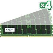 Crucial™ CT4K32G4RFD4213 128GB (4 x 32GB) DDR4 SDRAM RDIMM DDR4-2133/PC-17000 Server RAM Module
