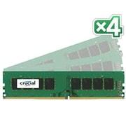 Crucial™ CT4K8G4DFD8213 32GB (4 x 8GB) DDR4 SDRAM UDIMM DDR4-2133/PC-17000 Desktop RAM Module
