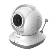 D-Link® DCS855L HD Pan & Tilt Wi-Fi Baby Camera, White
