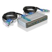 D-Link® DKV-M4K 4 Port PS/2 Desktop KVM Switch