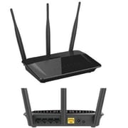 D-Link® DIR813 AC750 Fast Ethernet Wireless Router, 733 Mbps, 5 Port