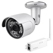 Edimax IC9110W Wired/Wireless HD Day and Night Network Camera, Silver