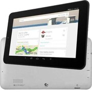 """Ematic EGQ337 7"""" Tablet, 8GB, Android 4.4 KitKat, Black/Silver"""
