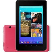 "Ematic EGQ367 7"" Tablet, 16GB, Android 5.1 Lollipop, Pink"