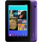 "Ematic EGQ367 7"" Tablet, 16GB, Android 5.1 Lollipop, Purple"