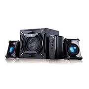 Genius 31731055101 45 W Gaming Woofer Speaker System, Black