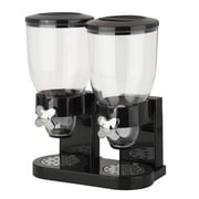 Honey Can Do® The Original Indispensable 17.5 oz. Double Dispenser, Black/Chrome (KCH-06121)