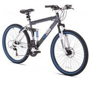 Kent Bicycles Thruster Dual Suspension Mountain Bike, Black (KZ2600)