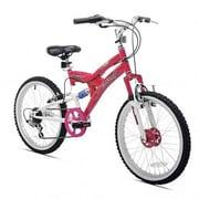 Kent Bicycles Rock Candy Kids Bike, Pink/White, 7 - 9 Years (32029)
