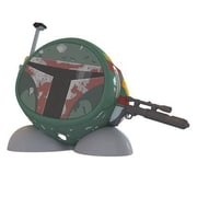 KIDdesigns Star Wars LIB66BFFX Boba Fett Bluetooth Speaker, Green/Red/Black