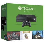 Microsoft® KF7-00050 Xbox One 1TB Holiday Game Console Bundle