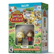 Nintendo® Animal Crossing: Amiibo Festival Wii U Entertainment Game Software (WUPRAALE)