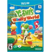Nintendo® Yoshi's Woolly World Wii U Action/Adventure Game Software (WUPPAYCE)