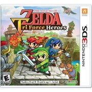 "Nintendo® ""The Legend Of Zelda: Tri Force Heroes"" Action/Adventure Nintendo 3DS Game Software (CTRPEA3E)"