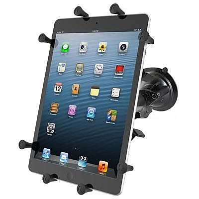 NPI RAM Twist Lock Suction Cup Tablet Mount, RAMB166UN9U, Black 2112367