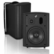 OSD Audio® AP640T 150 W Transformer Patio Outdoor Speaker, Black