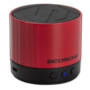 Scosche® BTSPK3 boomSTREAM mini Bluetooth Speaker, Red