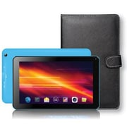 "Supersonic® SC-5317 7"" Tablet and Keyboard Case Bundle, 8GB, Android 4.4 KitKat, Blue"