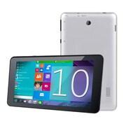 "Supersonic® SC-7021W 7"" Tablet, 16GB, Windows 10, Black/Silver"