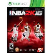 Take-Two® Sports NBA 2K16 Replen Gaming Software, Xbox 360 (49596)