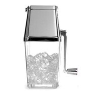 Taylor® 2 Quarts Metrokane Rabbit Ice Crusher, Clear/Chrome (W7177)