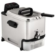 T-fal® Ultimate EZ Clean 3.5 L Professional Deep Fryer, Silver (FR800050)
