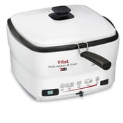 T-fal® Versalio 2 L 7-in-1 Multi Cooker and Fryer, White (FR490051)
