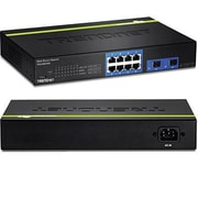 TRENDnet® TEG082WS 8 Port Gigabit Ethernet Web Smart Manageable Switch
