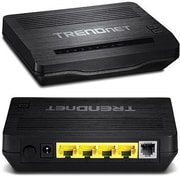 TRENDnet® TEW722BRM 300 Mbit/s N300 Wireless ADSL 2+ Modem Router