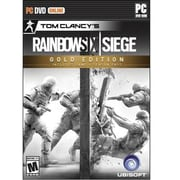 Ubisoft® Tom Clancy'S Rainbow Six Siege Gold Edition First Person Shooter Game Software, Windows, DVD-ROM (UBP60801047)