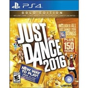 "Ubisoft® Simulation ""Just Dance 2016: Gold Edition"" PS4 Game Software (UBP30521065)"