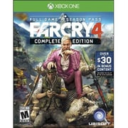 Ubisoft® First Person Shooters Far Cry 4 Complete Edition Gaming Software, Xbox One (UBP50401097)