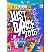 Ubisoft® Just Dance 2016 Entertainment Game Software, Wii U (UBP10801065)