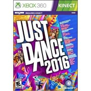 Ubisoft® Entertainment Just Dance 2016 Gaming Software, Xbox 360 (UBP50201065)