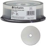 Verbatim® 98917 Blu-Ray Inkjet Recordable Media, Spindle, 25/Pack
