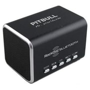 VisionTek® RockDoc® 900586 Boom Pitbull Portable Speaker with 4GB Memory, Black