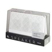 Voxx Acoustic Research® ARS140QT Fashion Portable Bluetooth Speaker, White Quilted