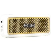 Voxx 808™ SP260 HEX XS Portable Bluetooth Speaker, Gold/White