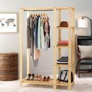 Whitmor Slat Wood Wardrobe, Lacquer (6301-5244)