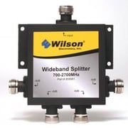 Wilson® weBoost 859981 -6dB 4-Way Signal Splitter, Black