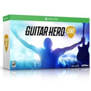 Activision® Guitar Hero Live Video Game Bundle, Music Rhythm, Xbox One (87423)