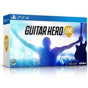 Activision® Guitar Hero Live Gaming Bundle, Music Rhythm, PlayStation 4 (87421)