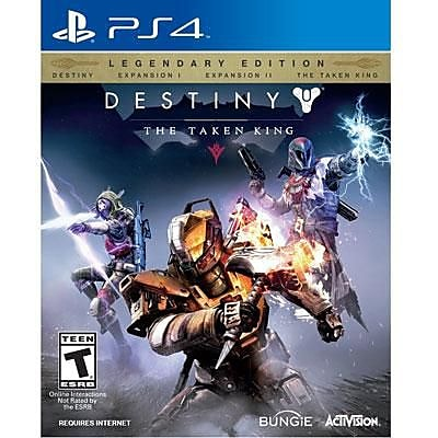 Activision Destiny: The Taken King - Legendary Edition Gaming Software, Action/Adventure, PlayStation 4 (87442) 2110134