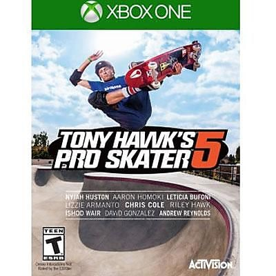 Activision Tony Hawk'S Pro Skater 5 Video Game, Action Sports, Xbox One (77068) 2110135