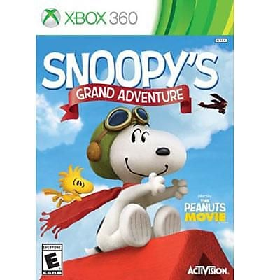 Activision The Peanuts Movie: Snoopy's Grand Adventure Game Software, Action/Adventure, Xbox 360 (77082) 2109931