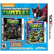 Activision® Teenage Mutant Ninja Turtles: Master Splinter'S Training Pack Game Software, Action, Nintendo 3DS (77064)